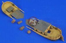 Verlinden 1/35 Sunken Small River Barge (Flat-bottomed Boat) [Resin kit] 2470