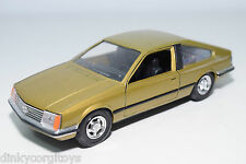 GAMA 448 OPEL MONZA METALLIC GOLD NEAR MINT CONDITION