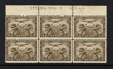 CANADA 1928 AIR PLATE No A-2 WITH VARIETY SG 274 MINT/ FAULTS.