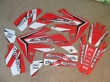 FLU DESIGNS PTS2  TEAM HONDA  GRAPHICS  HONDA CRF150R  LIQUID COOLED ONLY