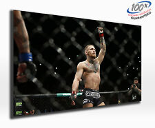 Conor McGregor Stunning Panoramic Canvas Print XXL 4 foot wide x 1.5 foot high