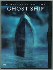 Ghost Ship DVD 2003 Widescreen Rated R English Francais 91 Minutes Color 23410