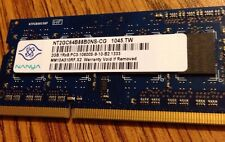 2gb 1rx8 PC3 laptop memorydimm 1 NANYA Used Works great