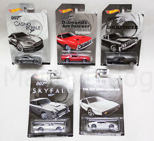 2015 Hot Wheels 1/64 James Bond 007 LTD Series Complete 5 Car Set! + 2017 DB10!