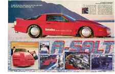 1983 PONTIAC BANKS FIREBIRD GTA @ BONNEVILLE  ~  NICE 4-PAGE ARTICLE / AD