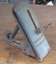 Huther Bro's Rochester, NY Antique Saw Sharpening Vise, Large