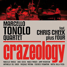 MARCELLO TONOLO QUARTET feat. CHRIS CHEEK plus FOUR «Crazeology» Caligola 2194