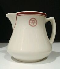 """US Army USA / Vintage Military Medical Ceramic Pitcher by Sterling / 4.5"""" Height"""