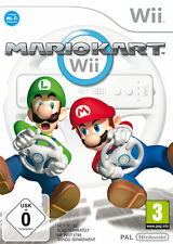 Mario Kart (Nintendo Wii, 2007) Disco Con Manual Pal En Caja Free UK Post