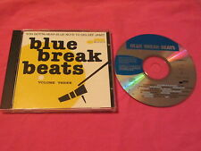 Blue Break Beats Volume Three CD Album 1996 Jazz Funk (981 765-6).