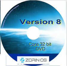 Zorin 8.1 Core 32 bit sistema operativo Linux Desktop Notebook Laptop