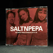 Salt N Pepa - The Brick Track Versus Gitty Up - music cd EP