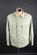 Vtg Men's WW2 US Army First Pattern HBT Cotton Field Jacket Shirt sz 40 #1807