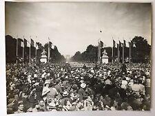 ww2 photo press  Paris 14 juillet 1939             B351