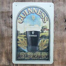 Metal Tin Sign guinness beer Bar Pub Home Vintage Retro Poster Cafe ART