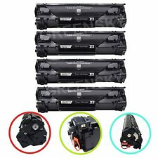 4 CE278A 78A Black Toner Cartridge Replacement For HP LaserJet P1606dn M1536dnf