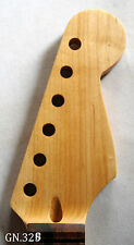 Antonio-Dot Inlay Handmade-Solidwood Maple Electric Scalloped Guitar Neck GN328