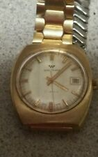 Vintage Waltham Watch 17 Jewels Swiss Made Stainless Steel Wrist Watch