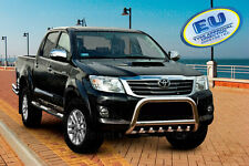 Toyota Hilux 2012-2016 CE APPROVED BULL BAR PUSH BAR GRILL GUARD WITH AXLE GRILL