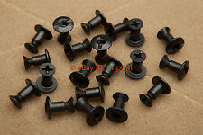 20x Pack - K1 Black Mounting Screws Assembly Hardware Kydex Holster Knife Sheath