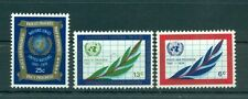 Nations Unies New York 1970 - Michel n. 226/28 A - 25e anniversaire des Nations
