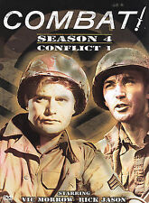 Combat - Season 4, Conflict 1 DVD 1965 TV War, WWII, Vic Morrow, Rick Jason, Pie
