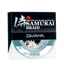 Daiwa SAMURAI Braided Line 40lb 1500yd Bulk Spool Spinning Braid DSB-B40LBG New
