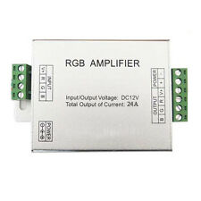 12V 24A RGB Signal Amplifier For SMD 3528 5050 LED Strips Lights Tape Roll