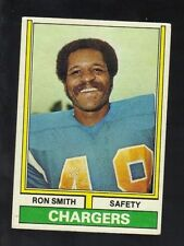 1974 TOPPS RON SMITH #45 SAN DIEGO CHARGERS