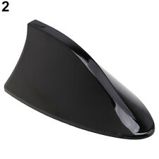 Black Car Auto Antenna Shark Fin Radio Signal Aerial For Audi Alfa Vw Happy