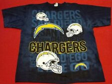 Mens San Diego Chargers Short Sleeve 1 Sided T Shirt Size L Football