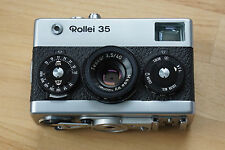 Rollei 35 Mit Tessar 3,5 40mm. Made by Rollei Singapore.