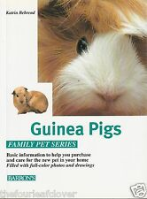 Guinea Pigs How to Care Feed Understand 1996 Barron's Katrin Behrend Softcover