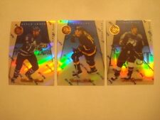 1997-98 Pinnacle Certified Mirror Blue Lot  C. Gratton,T.  Linden + W. Clark