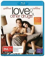 Love And Other Drugs (Blu-ray, 2011, 2-Disc Set)EX RENTAL NOTE DISC ONLY I CAN P