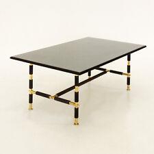 Tavolino da salotto mod. 1736 Fontana Arte, vetro e ottone,  Coffee Table, '50