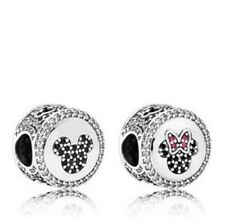 AUTHENTIC PANDORA Disney Mickey and Minnie Mouse Icons Single Charm