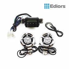 Waterproof Motorcycle ATV UTV Bike Audio System Handlebar FM Radio iPod Stereo