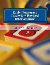 Elementary Math Intervention: Early Numeracy Interview-Revised Interventions...