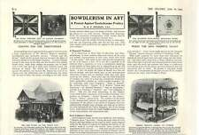 1909 Bowdlerism In Art Protest Against Prudery
