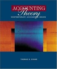 Accounting Theory: Contemporary Accounting Issues