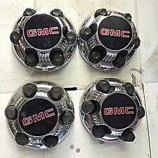 OEM Set of 4 1998-2008 GMC Sierra Chrome Center Caps 9595688 5129 5223