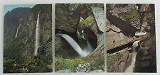 Schweiz Postkarten Lot 3x Wasserfall Waterfall Lauterbrunnen Alpen River Falls