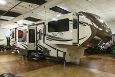 2014 Grand Design Solitude 379FL Front Living Room Luxury 5th Fifth Wheel Used