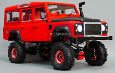 NEW 1/10 LAND ROVER DEFENDER 110 Rock Crawler W/ Scale Interior *RTR*