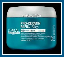 L'OREAL PRO-KERATIN REFILL incell Masque mask treatment weak damaged hair 200ml