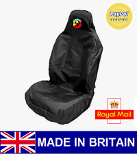 ABARTH CAR SEAT COVER PROTECTOR SPORTS BUCKET HEAVY DUTY WATERPROOF - FIAT 595
