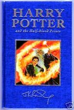 HARRY POTTER AND THE HALF-BLOOD PRINCE UK DELUXE. FIRST EDITION. FIRST PRINTING