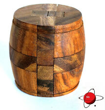 WINE BARREL - Wood Puzzle Brain Teaser Beer Keg Noggin busters 2013 all