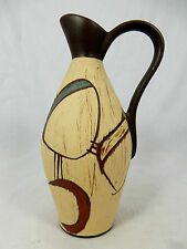 "Typical 50´s design SAWA pottery vase  # Keramik Vase "" Torino "" 317 / 20  10113"